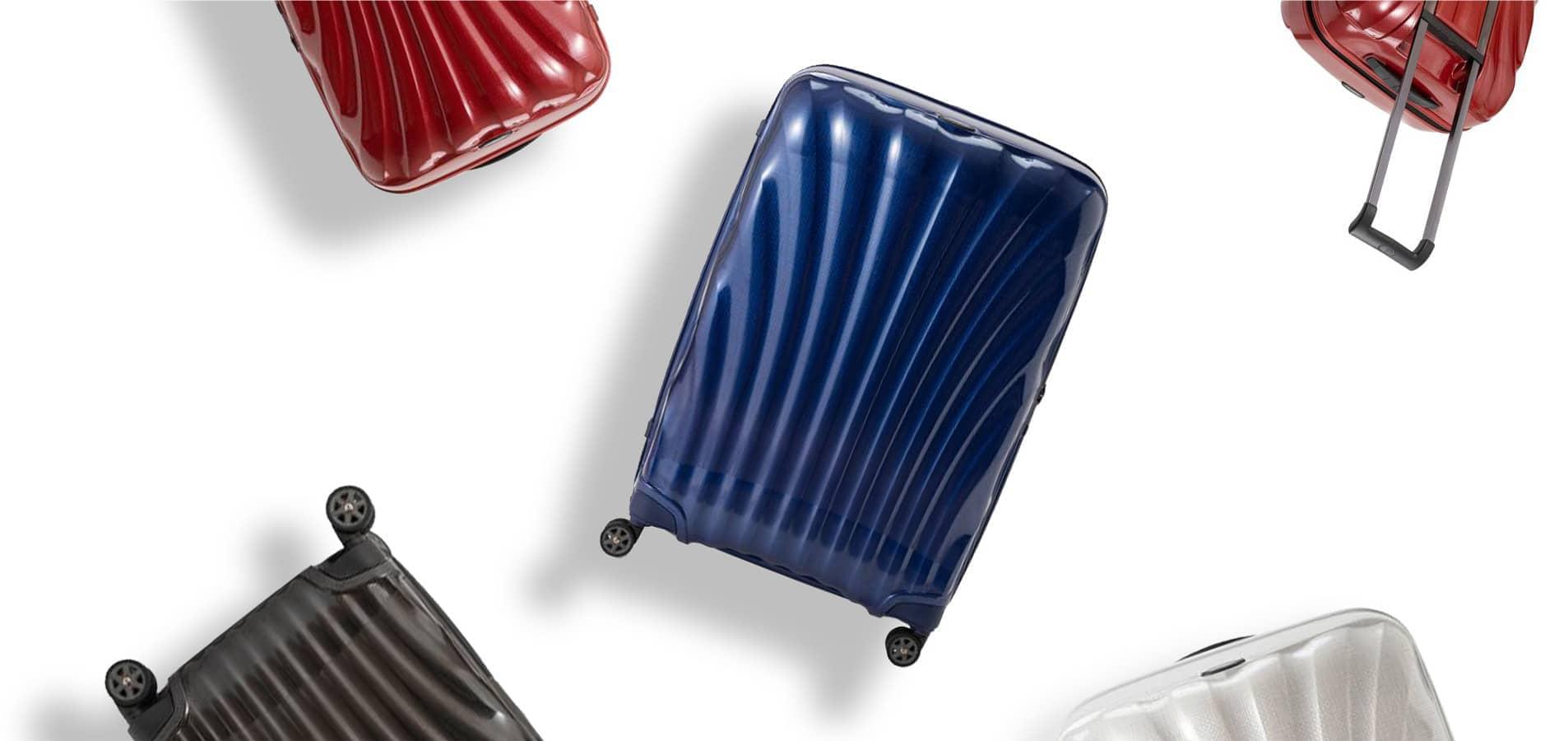 サムソナイトのスーツケースレンタル