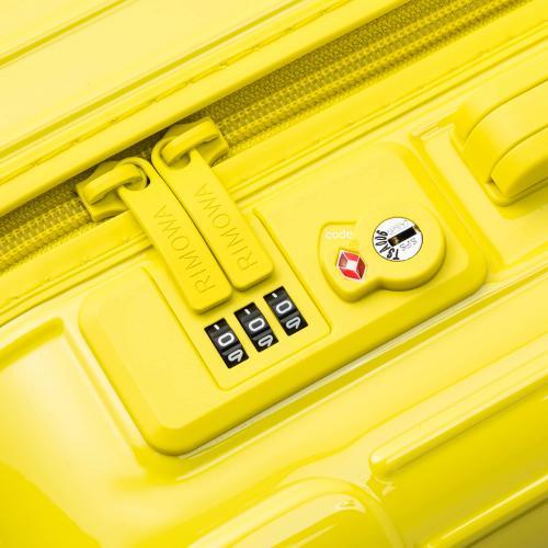 [1-3泊] リモワ エッセンシャル 36L サフランイエロー 4輪 RIMOWA Essential MULTIWHEEL