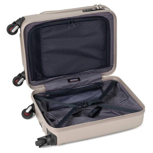 [1-3泊] エンドー鞄 フリクエンター クラムA  34L シャンパンゴールド  4輪 ENDO LUGGAGE FREQUENTER CLAM A