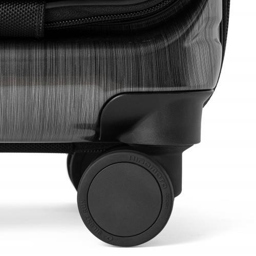 [1-3泊] バーマス インターシティ コインロッカー  22L ブラックヘアライン 4輪 BERMAS INTER CITY BLACK HAIRLINE
