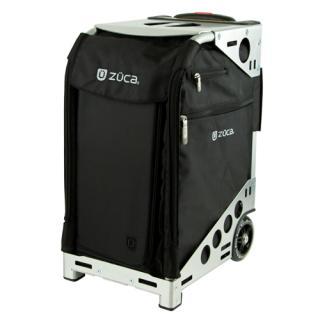 [1-3泊] ZUCA PRO Travel 32L Silver / Black 2輪 「スタンダードパッキングポーチセット+トラベルカバー」