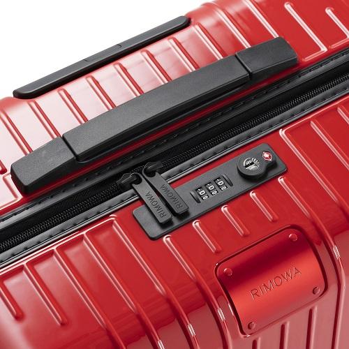 [3-5泊] リモワ エッセンシャルライト 59L レッド 4輪 RIMOWA Essential Lite