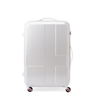 [5-10泊]イノベーター ファスナー 70L ホワイトクロスカーボン 4輪 innovator