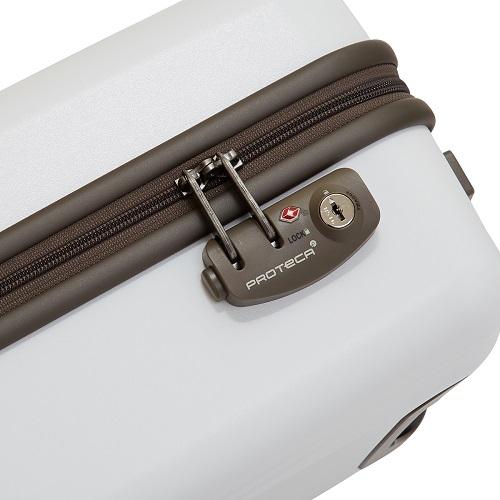[1-3泊] プロテカ(エース) フラクティ ホワイト 4輪 31L ACE PROTECA FLUCTY